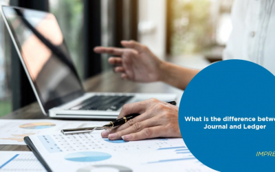 What is the difference between Journal and Ledger?