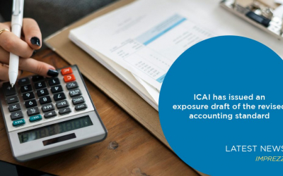 ICAI has issued an exposure draft of the revised accounting standard